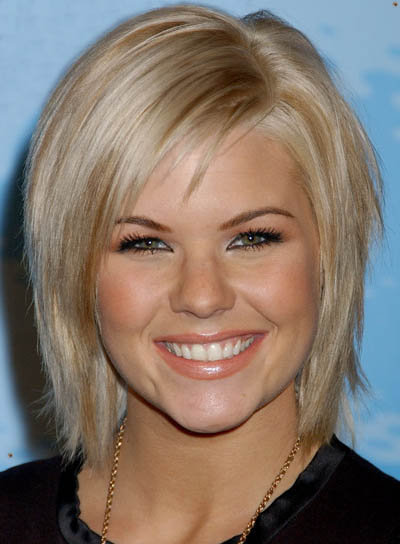 round face hairstyles. Best Hairstyles For Round Face Shapes