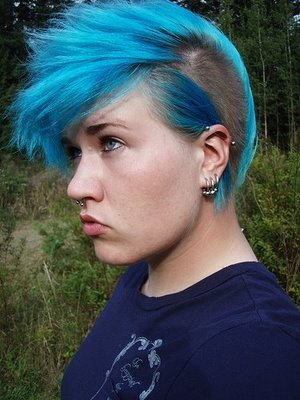 Short Choppy Hairstyles for Punk Emo Girls