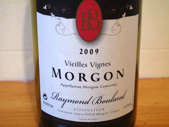 2009 Raymond Bouland Morgon