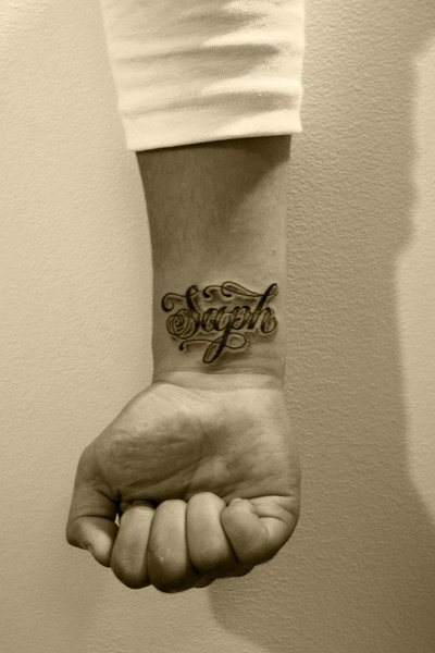 Lettering Design Tattoo. One can find limitless choices which are obtainable
