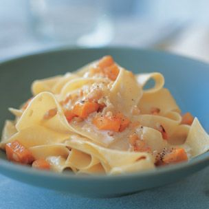Pappardelle with Roasted Squash
