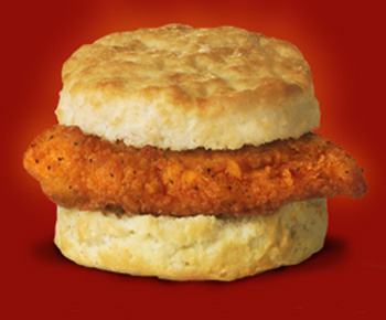 Chick-fil-A Spicy Chicken Biscuit