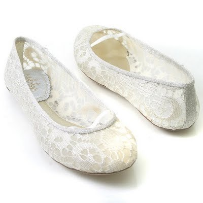 Wedding Shoes Flats On Flat Shoes 3 Beaded Bracelets White Roses Semi  Pointed White Flat