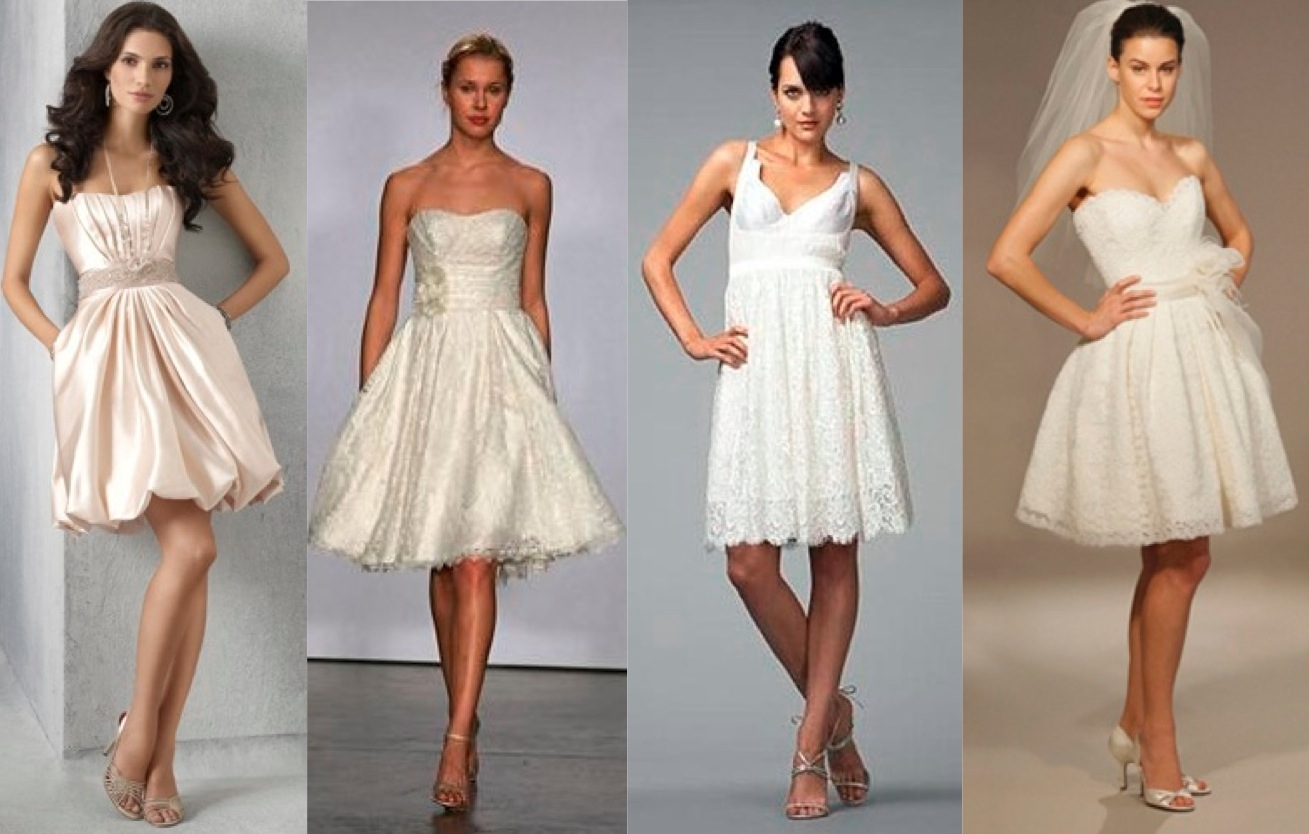 Short Wedding Dresses Designer