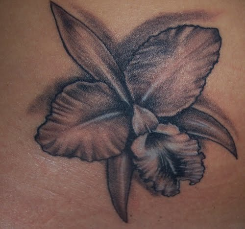 Making the orchid tattoo very unique and special.