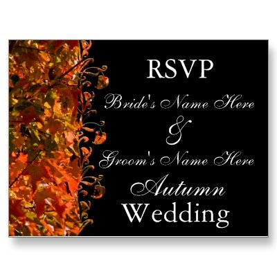 wedding invitations fall 3 Best Fall Wedding Invitations
