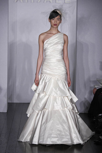 Kenna 20A567 Silky taffeta wedding dress Exotic Silky taffeta wedding dress