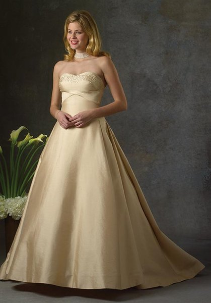 bara champagne wedding gowns