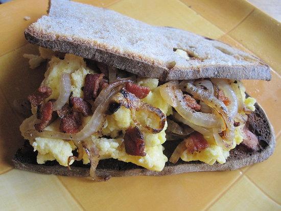 Bacon and Egg Sandwich Recipe | POPSUGAR Food