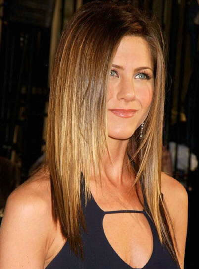 Jennifer aniston long hairstyle. Jennifer aniston simple hairstyle