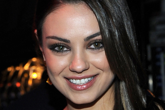 Love how Mila Kunis wore a