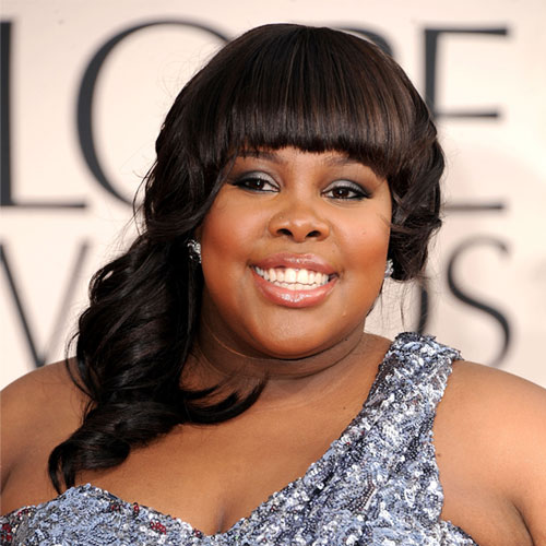 amber riley hair golden globes