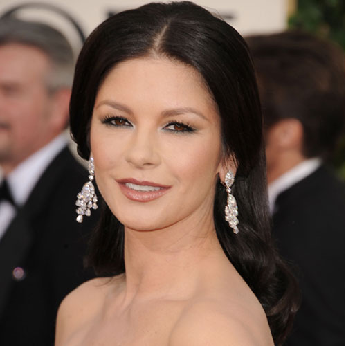 Catherine Zeta-Jones is timelessly elegant, and although she had a