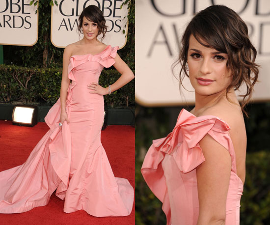 lea michele golden globe