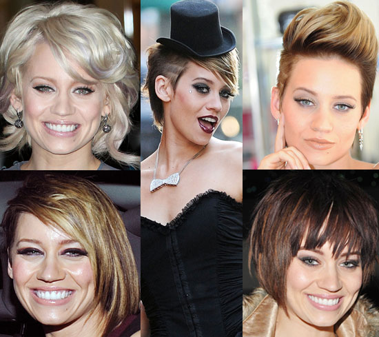 Which Hairstyle Do You Like Most on Kimberly Wyatt?