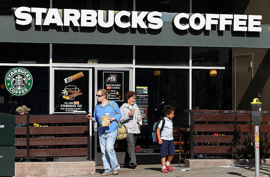 Starbucks Coffee storefront
