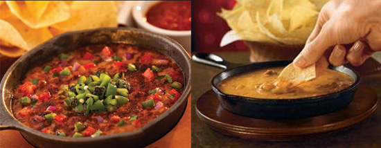 Chili's Wild or Mild Menu