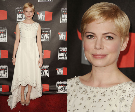 Michelle Williams at Critics' Choice Awards