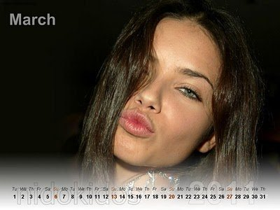 adriana lima 2011 photos. adriana lima new years