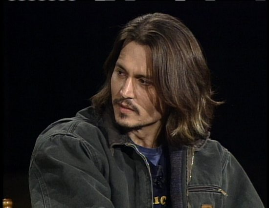 Johnny Depp Long Hair. johnny depp long hair
