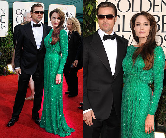 elisabeth moss, and last nights Angelina+jolie+emerald+green+dress