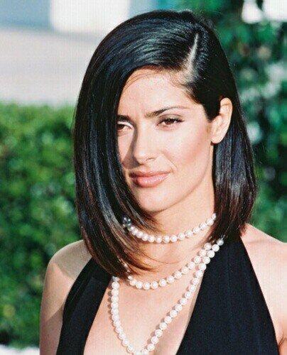hayeksalma. salma hayek short hair