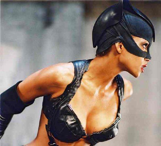 catwoman halle berry poster. halle berry catwoman hair.