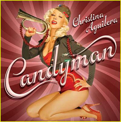 christina aguilera candyman album cover. christina aguilera new cd