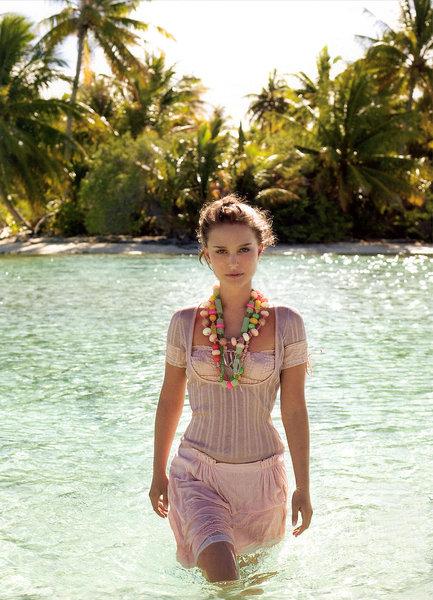 Natalie Portman Elle. hair Natalie Portman