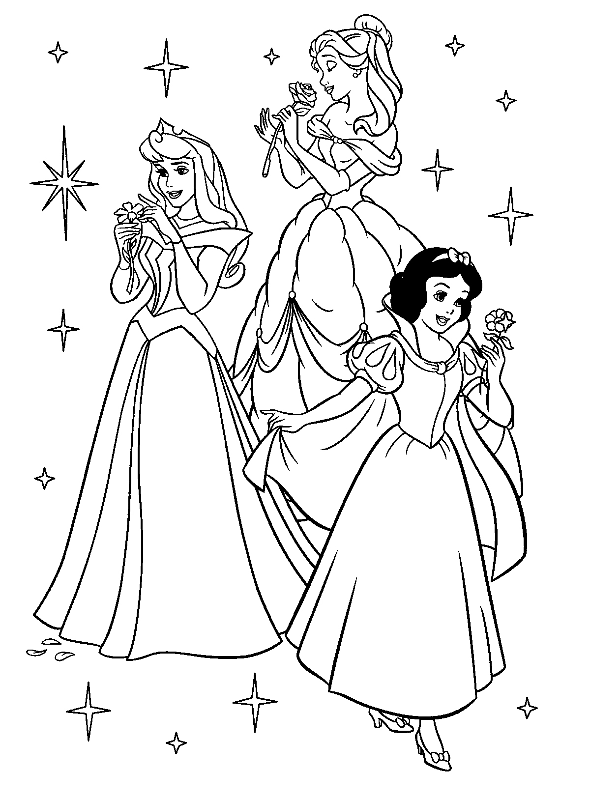 coloring pages disney