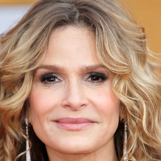 Kyra Sedgwick's understated makeup was the perfect complement to her vintage ...
