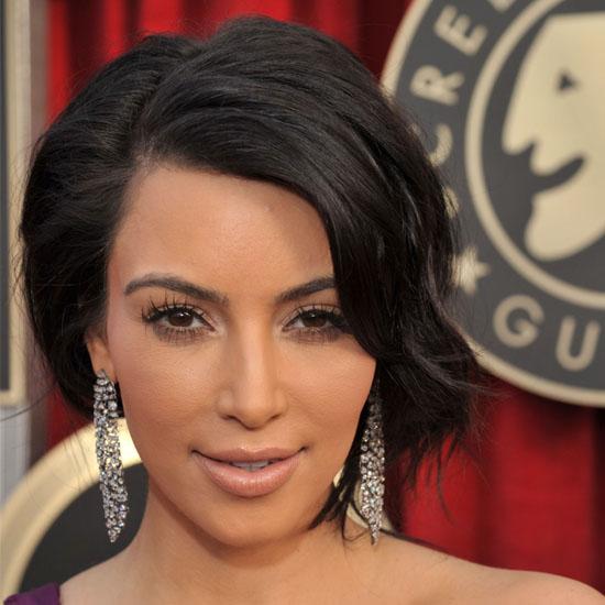 kim kardashian 2011 hair. Kim Kardashian tweeted to