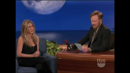 Feb 02 - 4:07PM / Read More: Jennifer Aniston, Conan O'Brien