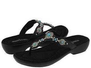 Minnetonka Boca Thong Sandals