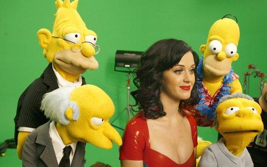 Katy Perry - 'The Simpsons' - photoshoot