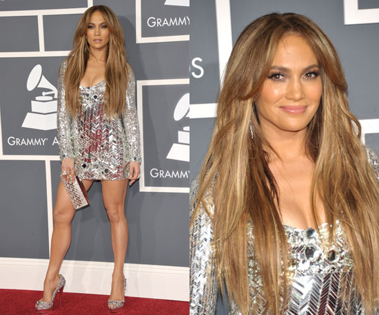 jennifer lopez hair color 2011. Jennifer Lopez showed off her