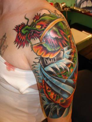 samurai warrior tattoos. like a Samurai warrior.