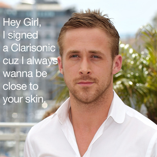 Do you love Ryan Gosling? Have you been in the market for a new Clarisonic?
