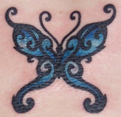 Butterfly  Tribal Tattoos on Tribal Butterfly Tattoos   Find The Latest News On Tribal Butterfly
