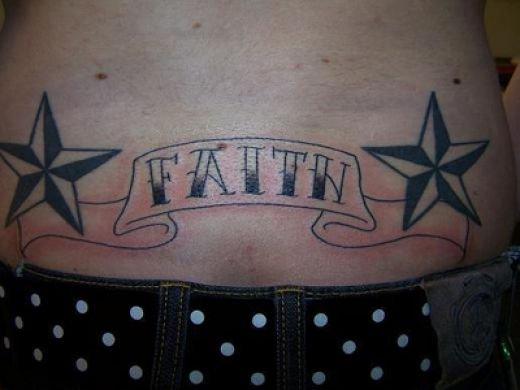 faith tattoo designs. Tattoo Designs For Lower Back