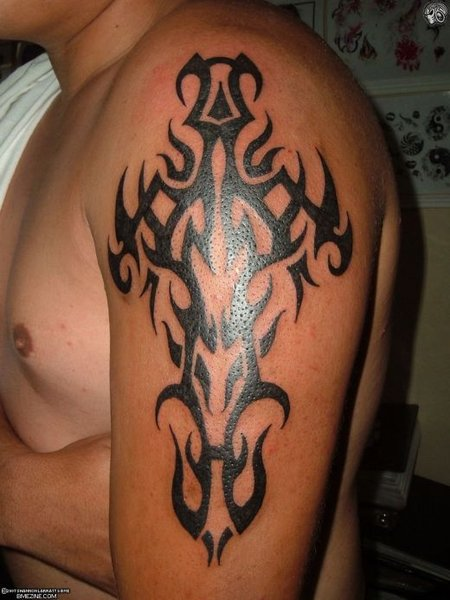 date tattoos ideas. Tribal arm Tattoo ideas