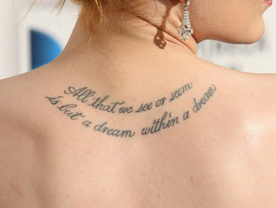 Meaningful Quote Tattoo Ideas for Women