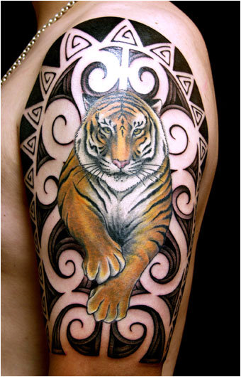 japanese tiger tattoos. japanese tiger tattoo flash. Japanese Tiger Tattoo