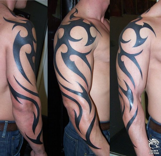 tattoos for guys on arm. arm tattoos for guys. Tribal Arm Tattoos for Men and