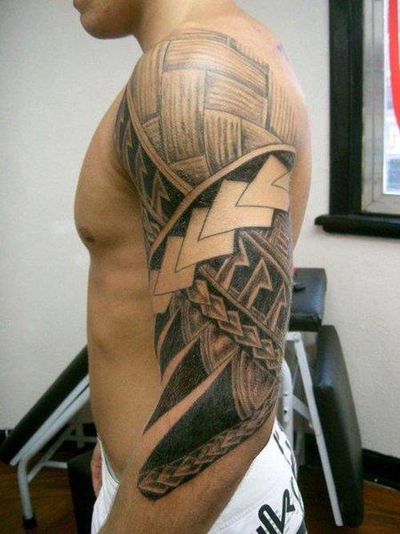 Tagged with: Arm Maori tattoo , Arm Maori tattoos