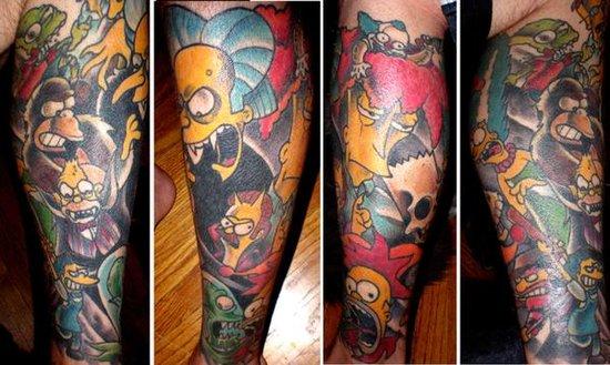 homer simpson pussy tattoo. girlfriend Homer Simpson