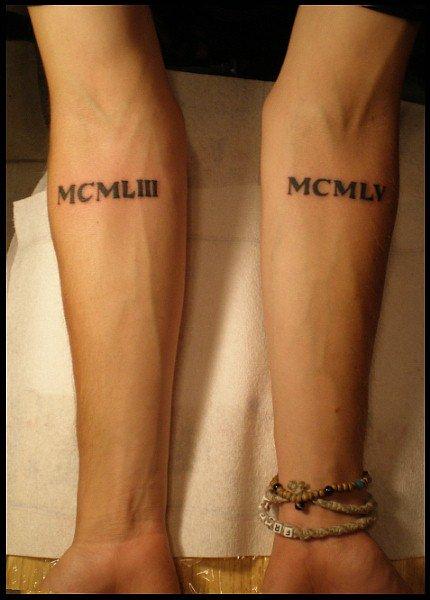 Tribal forearm tattoo designs