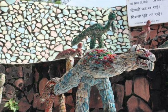 Picture Of Amazing Rock Garden in  Chandigarh Seen On www.coolpicturegallery.us
