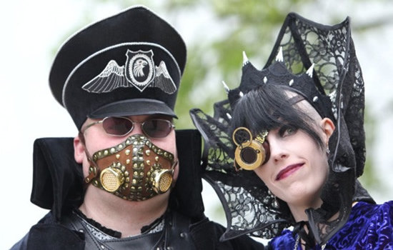 Amazing Wave Gotik Treffen Goth Festival  in Germany Seen On www.coolpicturegallery.us