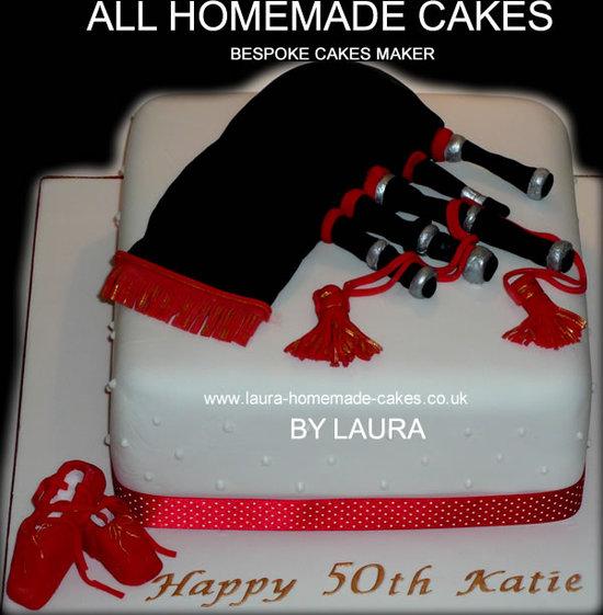 Luxury 50th Birthday Cake